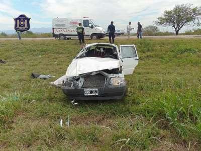 Siniestro vial con víctima fatal.