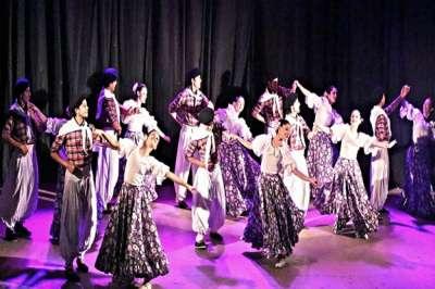 El Ballet Folklórico de Salta en homenaje al Día de la Tradición.