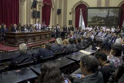Asumieron los nuevos diputados y se ratificó a Godoy como presidente del cuerpo.
