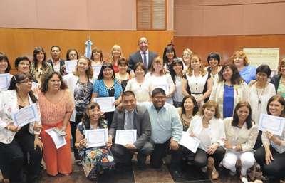 Asumieron supervisores de Nivel Inicial, Primario y Especial.