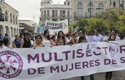 El Gobierno de la Provincia adhirió a la marcha Ni Una Menos.