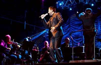 """Con Jorge Rojas y la Orquesta Sinfónica comenzó el ciclo """"La cultura no duerme""""."""