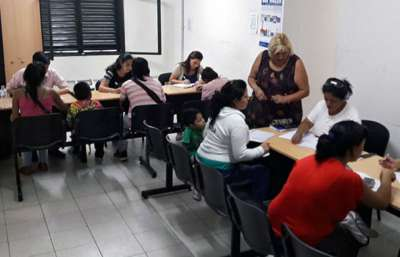 El Gobierno habilitó oficinas para atender a beneficiarios de los terrenos de Parque La Vega.