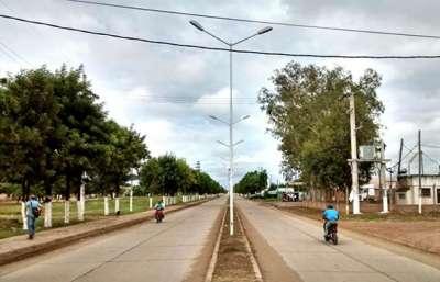 Pichanal tiene una nueva avenida de acceso.