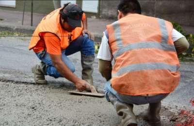 Ya relevados, se repararán más de 250 baches en seis barrios de la zona norte.