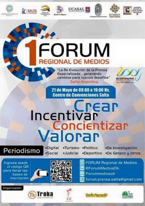 La actualidad del periodismo se debate en el primer Fórum Regional en Salta