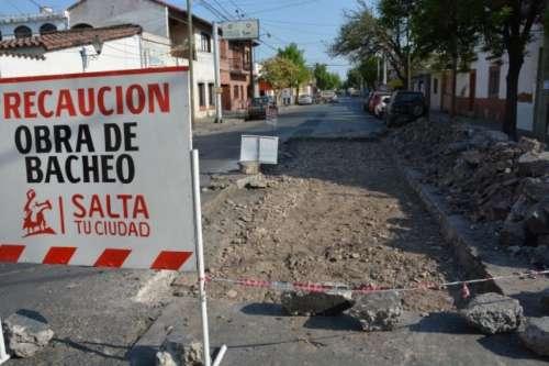 Por obras de bacheo habrá cortes totales en dos calles