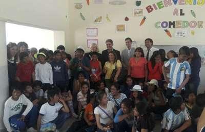 Niños de San Antonio de los Cobres visitan Salta