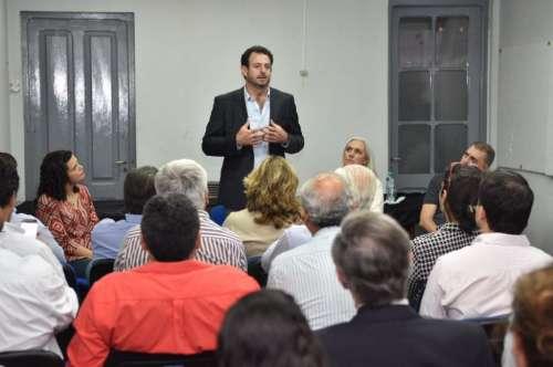 José Urtubey expuso ante dirigentes del Partido Renovador