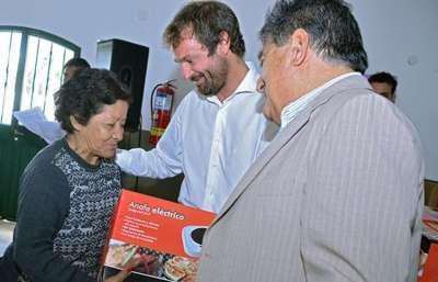 El plan Anafe en Casa benefició a familias de 28 municipios salteños