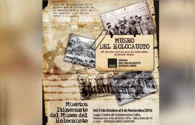 El museo del Holocausto llega a Salta