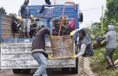 Más de 100 toneladas de chatarras se retiraron en Tartagal en operativos de descacharrado