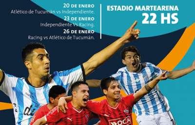 Fútbol de verano en Salta con Independiente, Racing y Atlético Tucumán