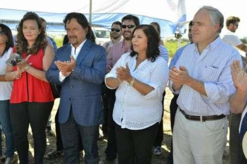 Sáenz y Vega lanzaron el proyecto Parque Independencia de la Patria
