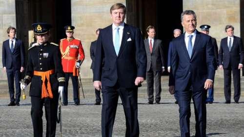 Macri inició su visita oficial a Holanda