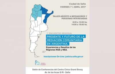 En agenda: Salta será sede del primer encuentro regional de mediación