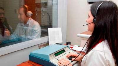 Bien ahí: audiometrías sin turnos en el hospital San Bernardo