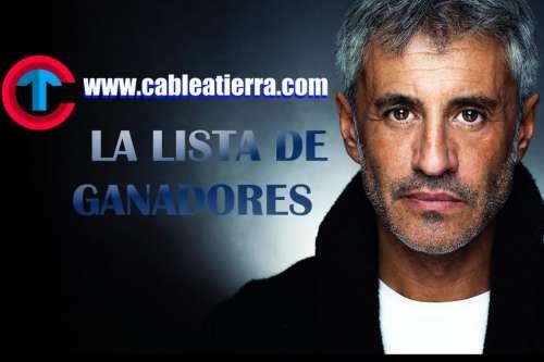 Sergio Dalma en Salta: La Lista de Ganadores de Cable A Tierra
