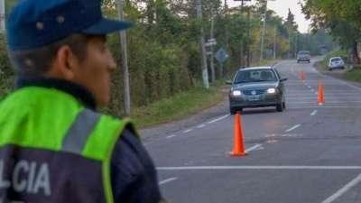 MegaOperativo: La Policía realizó más de cien controles el finde