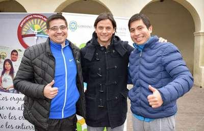 Dos salteños en el mundial para deportistas trasplantados