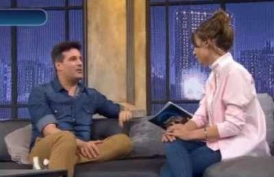 Pampita se emocionó con Listorti al recordar a su hija