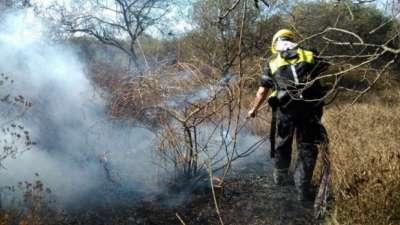 San Luis es la zona más afectada por los incendios