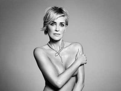 Sharon Stone y su asombrosa figura en bikini a los 59