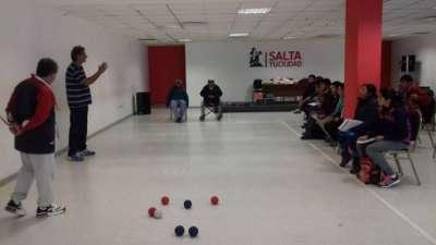 La ciudad prepara árbitros de `boccias´ para potenciar el deporte paralímpico