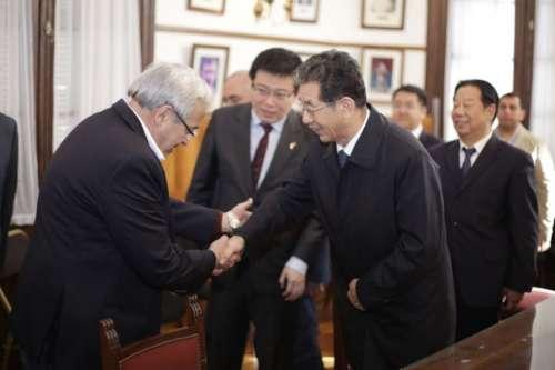Asambleistas de Shanxi recorrieron la Legislatura