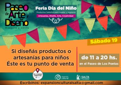 """""""Feria del Día del Niño"""", la propuesta del fin de semana"""