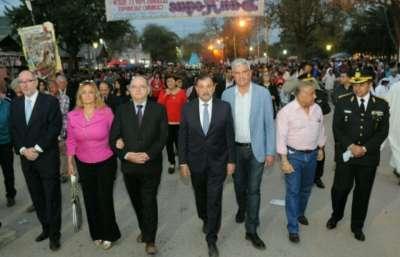 Miguel Isa y Zottos en la fiesta patronal de Embarcación