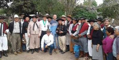Gauchos Tarijeños visitaron la ciudad de San José de Metan