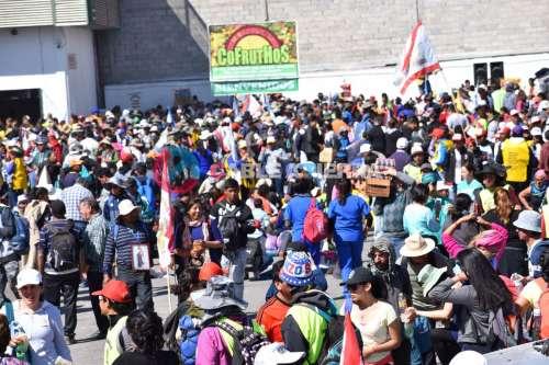 Llegaron 4000 peregrinos de Cachi