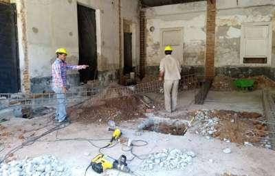 Iniciaron las obras para finalizar la puesta en valor del Hotel Termas