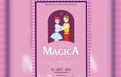 En la Ferinoa el Ballet Clásico presentará La Juguetería Mágica