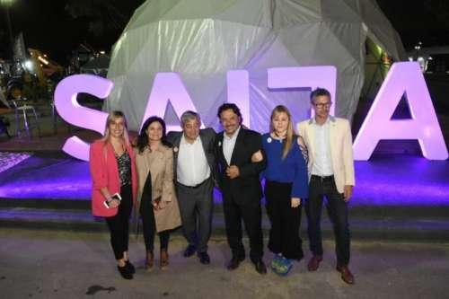"""Gustavo Sáenz en la inauguración oficial: """"FERINOA nos muestra al mundo"""""""