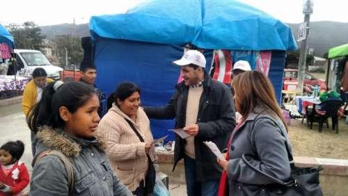 """Chibán: """"El voto en blanco solo sirve para que nada cambie"""""""
