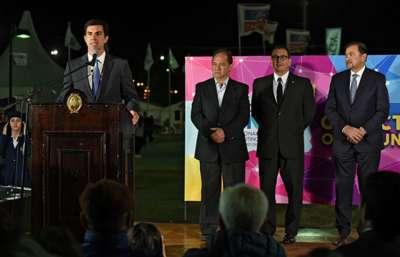 El gobernador asistió a la clausura oficial de Ferinoa 2017