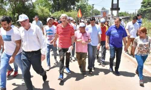 Amplio respaldo de San Martín a Zottos y a Unidad y Renovación