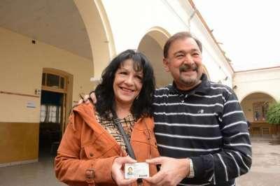 Miguel Isa se encontró con María Eva Duarte en esta jornada legislativa