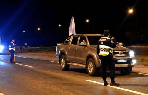 Seguridad Vial detectó 31 conductores alcoholizados este fin de semana