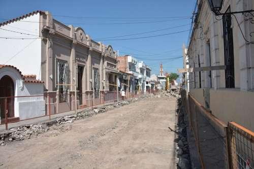 Obras en la ciudad: extienden los trabajos del Corredor de la Fe