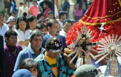 El Vicegobernador en los festejos patronales en honor a San Carlos Borromeo