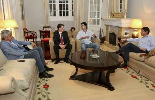 Con diputados nacionales Urtubey evaluó el pacto fiscal propuesto por la Nación
