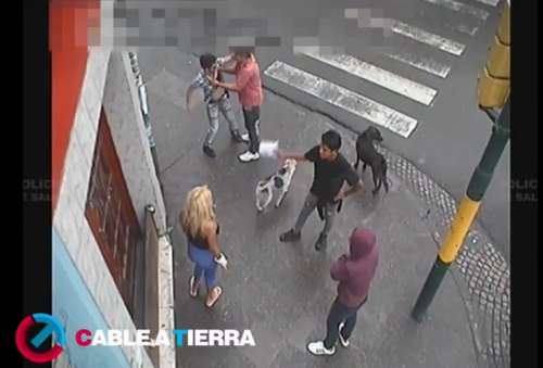 Video: Mirá lo que sucede en pleno centro de la capital de Salta