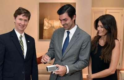 El gobernador Urtubey recibió al embajador de Canadá ante Argentina y Paraguay