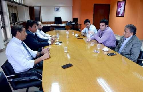 Reunión en el Ministerio de Gobierno con Jarsún y ATE