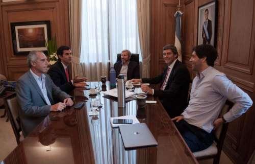 Consenso Fiscal: Urtubey y Yarade con Frigerio