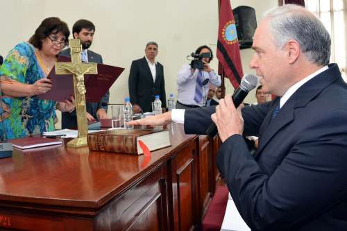 Cánepa, el nuevo Presidente