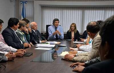 Diputados del bloque justicialista se reunieron con el Jefe de Gabinete